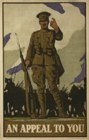 Vintage WW1 Poster. An appeal to you.